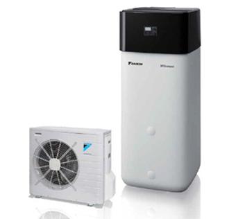 Impianti a pompa di calore Daikin