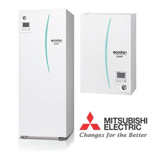Impianti a pompa di calore Mitsubishi Electric